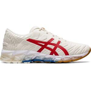 Asics 1021A291-100 GEL-QUANTUM 360 5 Cream Classic Red Men's Running Shoes