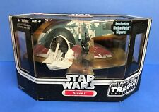 SLAVE 1 Star Wars Trilogy 2004 Hasbro with Boba Fett action figure