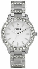 Fossil ES2362 Glitz White Dial Stainless Steel Women's Watch