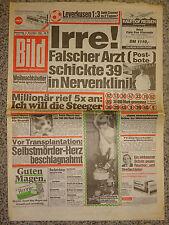 Bild Zeitung 6.12.1984, Nena, Uschi Glas, Katie Rabett, Ingrid Steeger