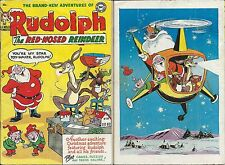 Rudolph The Red Nosed Reindeer Rare Dc Comics 1953 Vg