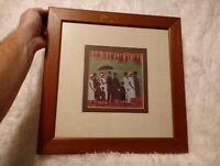 Framed Art Print 'Funeral Procession' by Ellis Wilson 14.5×14.5