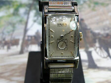 """GRUEN CURVEX EXTRA  LARGE  """" 370 """" MODEL....NEW DIAL & CRYSTAL.....SERVICED"""