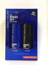 Matrix Total Results Brass Off Shampoo & Conditioner - 10.1oz DUO