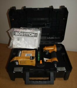 Bostitch SB-2IN1 Combi Finish Stapler/Bradder with case and staples