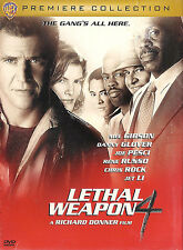 Lethal Weapon 4 ~ Jet Li Danny Glover Mel Gibson ~ DVD WS ~ FREE Shipping USA