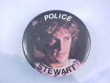 Original 1980's The Police Sting Concert Stewart Souvenir Pin / Pin-back Button