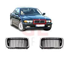 BMW 7 E38 1999-2001 NUOVO Paraurti Anteriore Griglia Radiatore Superiore Sinistro N//S Passeggero