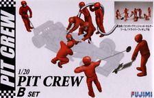 1:20 Scale F1 Style Pit Crew Model Kit #901p