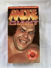 ANDRE THE GIANT - THE MISSING MATCHES VHS