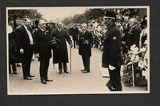 Frodsham - The Kings Visit 1926? - real photographic postcard