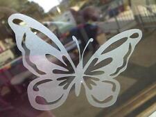 Butterfly Etch Effect, Frosted Vinyl Window Stickers