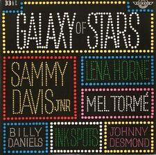 "GALAXY OF STARS various 6 track ep sammy davis mel torme lena horne 7"" PS EX/EX"