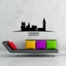 Wall Stickers Vinyl Decal London England Great Britain Europe Tower (z1747)