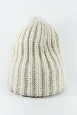 RETRO CREAM LADIES WOOLY KNITED WINTER INSPIRED THICK KNIT HAT (HT20)