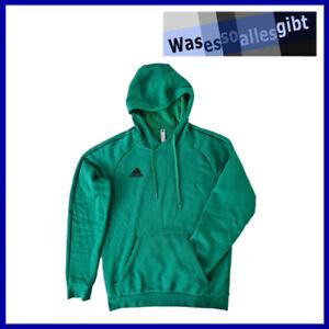 SCHNÄPPCHEN! adidas Core 18 Hoody  grün  Gr.: M  #T 40303
