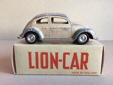 EXTREME RARE SAND LION CAR - LION TOYS VOLKSWAGEN - BEETLE - BUG - OVAL WINDOW