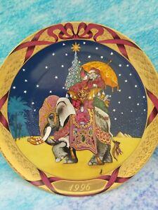 "Bing Grondahl 1997 ""Santa Claus in the Orient"" Hans Henrik Hansen Plate"