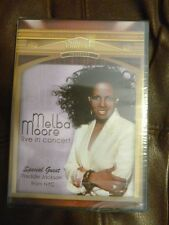 Melba Moore Live Concert DVD New Sealed Freddie Jackson NYC New York Soul R B In