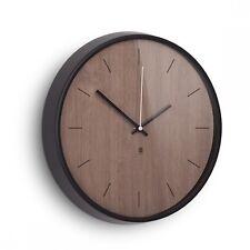 UMBRA MADERA WALL CLOCK Wanduhr 32 cm Uhr walnuss 118413-048
