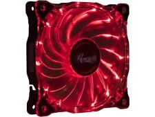 Rosewill RFA-80RL - 120mm CULLINAN Computer Case Cooling Fan with LP4 Adapter -