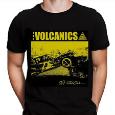 Camiseta THE VOLCANICS talla L . new christs hellacopters high energy stooges