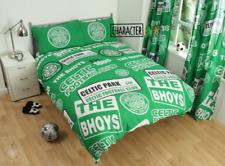 Official Celtic FC Bhoys Patch Double Duvet Cover Bedding Set Football Scotland