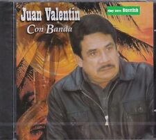 Juan Valentin Con Banda CD New Nuevo sealed