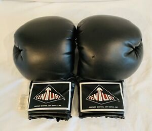 Century 12oz Black Breathable Boxing Sparring Gloves