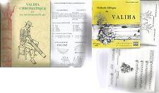 MADAGASCAR  MALAGASY VALIHA CHROMATIQUE MALGACHE  2 livres en français