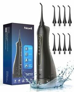 Water Flossers Teeth Fairywill 300ML CordlessProfessional DentalOralIrrigator