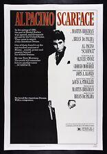 SCARFACE ✯ CineMasterpieces 1983 ORIGINAL MOVIE POSTER TONY MONTANA AL PACINO