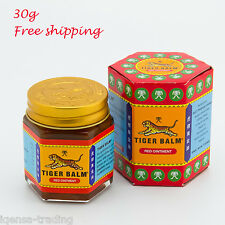 30g of Tiger Red Balm Massage Ointment Relief Insect Bite Muscle Ache Pain Rub