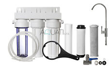Luxury Home Under Sink Water Purifier and Softener Filter Kit– Salt Free Aquati