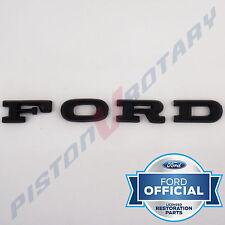 FORD Bonnet Letter Badge Set black for XC Falcon GS GXL coupe cobra letters hood
