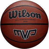 Wilson MVP Series Outdoor Basketball in Brown Rubber - Standard Size