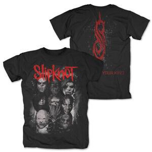 Slipknot WANYK Masks Official Merchandise T-Shirt M/L/XL - Neu