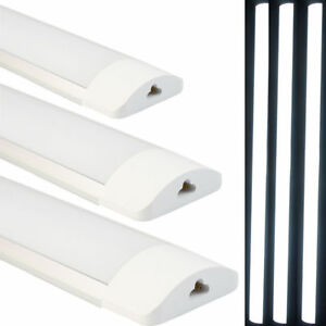 2/4/10x 27W 90cm LED Linkable Batten Tube Light Wall Mount Ceiling Panel Lamp