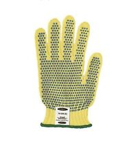 New . Cut Resistant Gloves, Yellow/Blue, M, (3 Pairs)