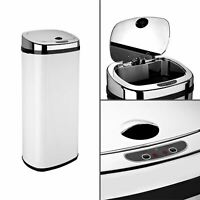 Dihl 30L 42L 50L Rectangle White Sensor Kitchen Waste Dust Bin Automatic