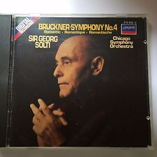 Bruckner: Symphony #4, Solti, Chicago Sym. - Made in Germany - Full Silver