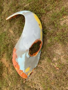 1973 ONLY Volkswagen Standard & Super VW Beetle Bug LH LEFT Driver Rear Fender