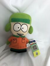 """South Park Kyle Stuffed Plush Comedy Central 2008 Nanco 9"""" doll character toy"""