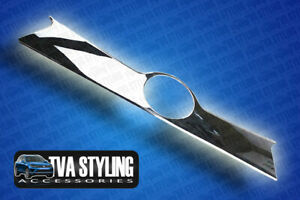CHROME EFFECT BOOT GRAB HANDLE TRIM COVER STREAMER TO FIT TOYOTA RAV4 2013-ON