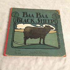 Will Kidd - Baa Baa Black Sheep - 1st 1904 - Beautiful Illustrated Antique Book