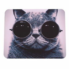 Cat Picture Anti-Slip Laptop PC Mice Pad Mousepad For Optical Laser Mouse JAC