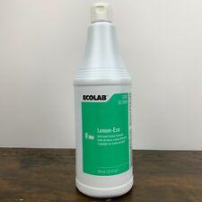 Ecolab 13094 Lemon-Eze 32oz Bathroom Creme Cleanser New 100% Authentic