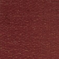 20 Yard Roll Burgundy Gold specs Chenille Upholstery Fabric