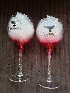 The Crow Wine Glasses