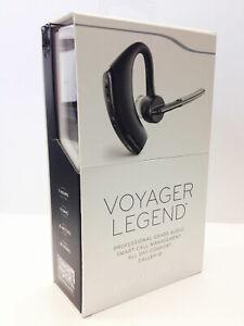 Black Retail Plantronics Voyager Legend Pro Bluetooth Headset w/ Voice Command